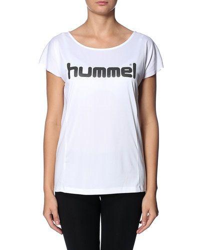 Vit träningslinnen från Hummel Sport till dam.