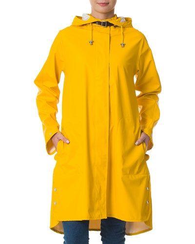 regnjacka gul dam