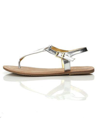 Metallicfärgad sandal från Ilse Jacobsen till dam.