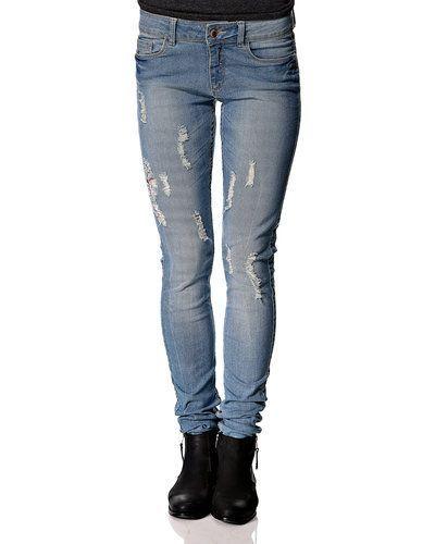 Blå blandade jeans från Jacqueline de Yong till dam.