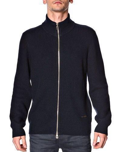 J.Lindberg 'Macon' stickad tröja m/zip från J.Lindeberg, Mössor