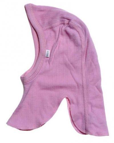 Till barn från Joha, en rosa mössa.