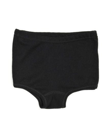 Till barn från Joha, en svart underklädesplagg.