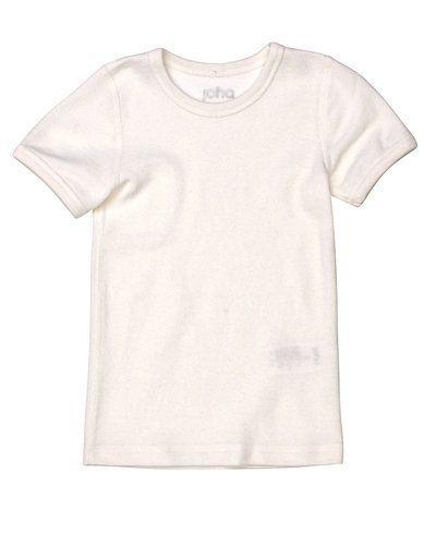 Vit t-shirts från Joha till barn.