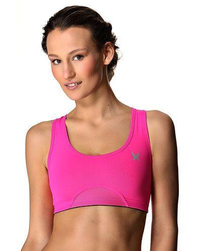 Till tjejer från Kari Traa, en rosa sport bh.