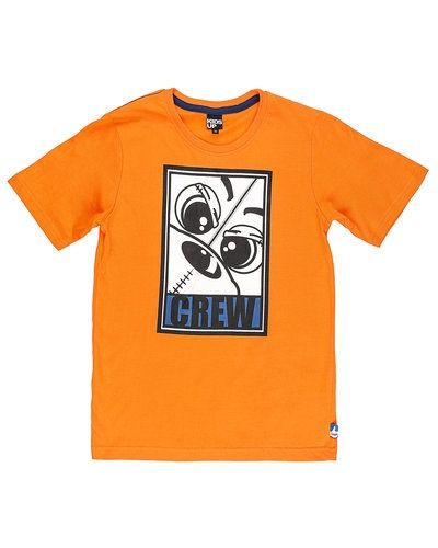 Till unisex/Ospec. från Kids-up, en orange t-shirts.