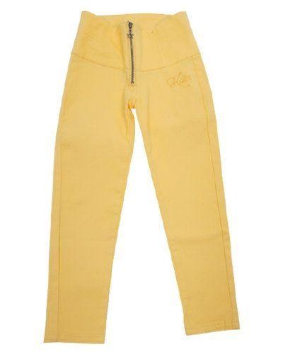 Jeans Koin: Gula Kiss high waist byxor från Koin