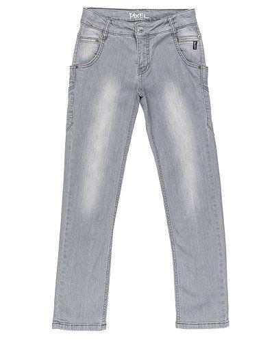 Koin blandade jeans till unisex.