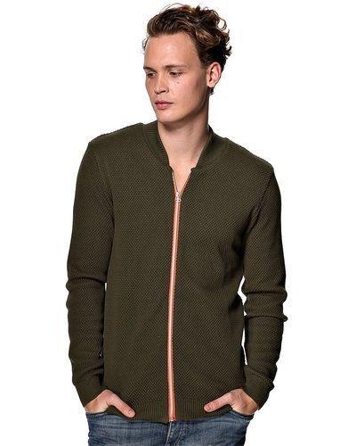 Kronstadt 'Jesper' stickad tröja m/zip från Kronstadt, Mössor
