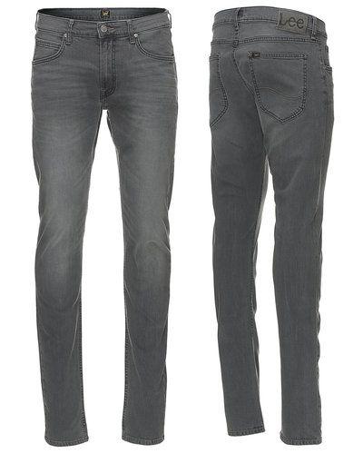 Svart slim fit jeans från Lee till herr.