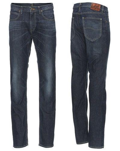 Till herr från Lee, en blå blandade jeans.