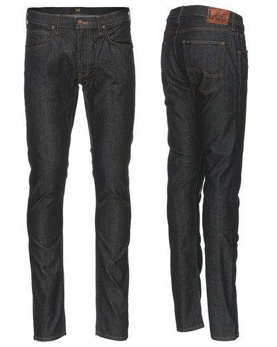 Blå slim fit jeans från Lee till herr.
