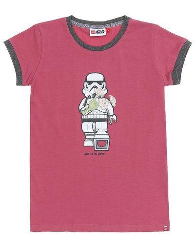Rosa t-shirts från LEGO Wear till tjej.