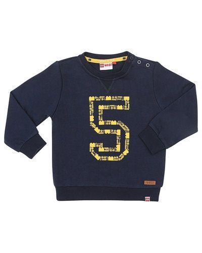 Till barn från LEGO Wear, en blå sweatshirts.