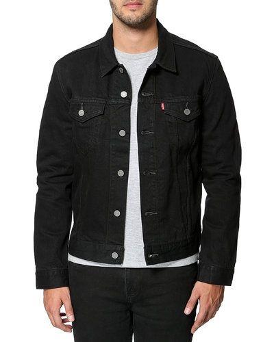 billig bästa leverantör detaljer för Levis jeansjacka till herr.