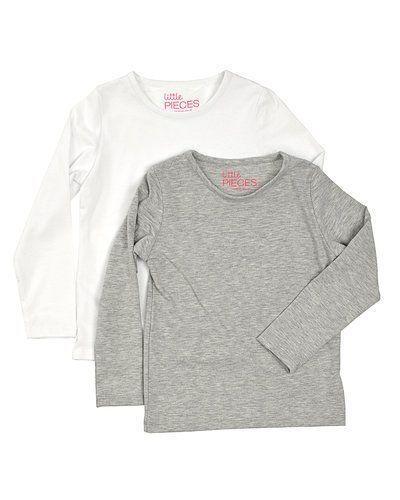 Little pieces långärmad t shirt 2 pack