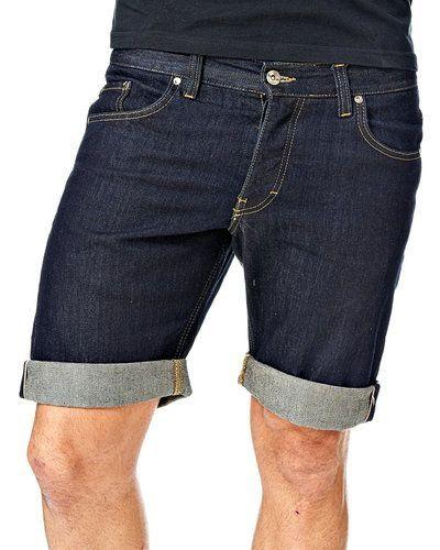Blå jeansshorts från Minimum till killar.
