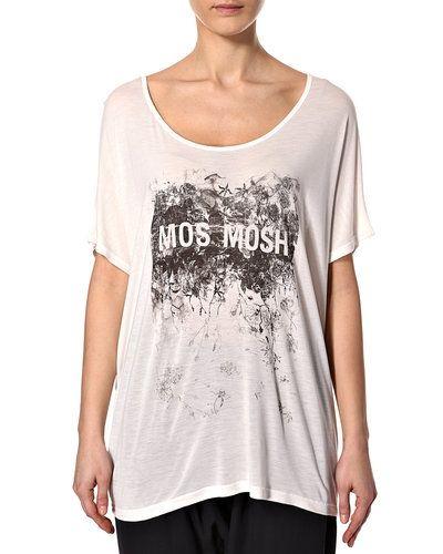Vit t-shirts från Mos Mosh till dam.