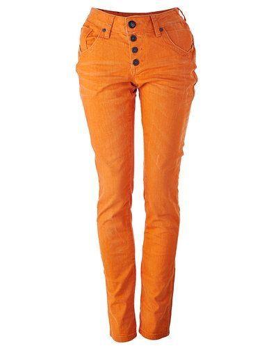 orange byxor dam