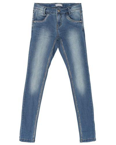 Blå jeans från Name it till tjej.