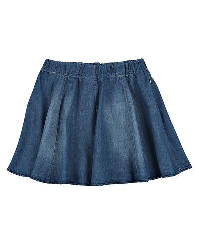 Blå jeanskjol från Name it till tjejer.
