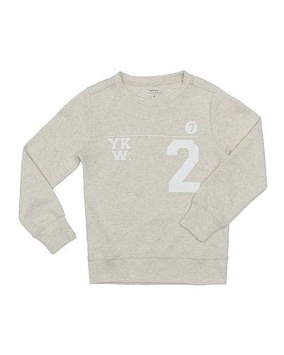Beige sweatshirts från Name it till barn.