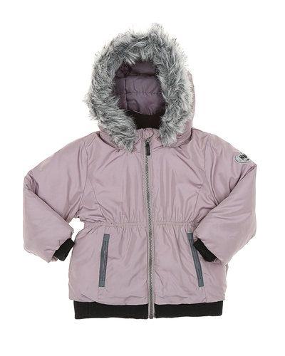 Till tjej från Name it, en rosa övriga jacka.