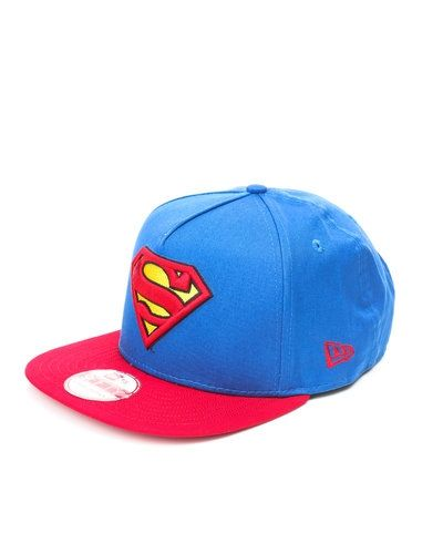 New Era 9Fifty 'Superman' platt snapback keps från New Era, Kepsar