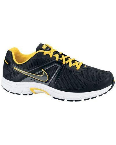 Nike DART 9 LEATHER 443862 004 BLACK/MTLC COOL GRE från Nike, Löparskor
