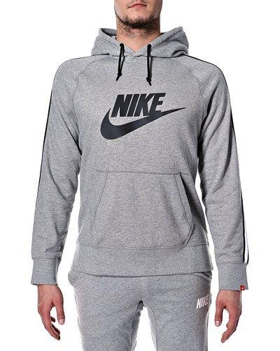nike hoodie herr grå
