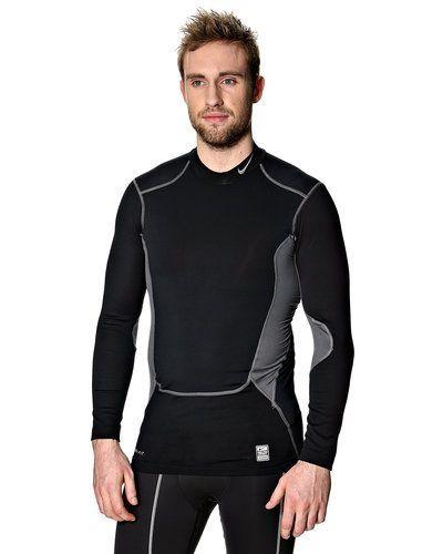 Nike Hyperwarm Compression shield mock löpartröja från Nike, Långärmade Träningströjor