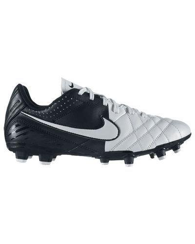 Nike JR TIEMPO NATURAL IV LTR FG 509081 105 WHITE/ från Nike, Fasta Dobbar