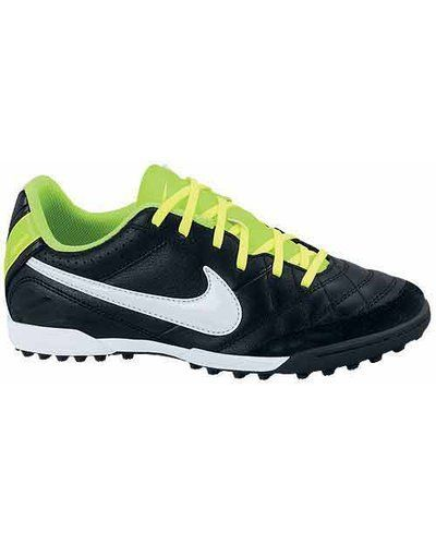 Nike JR Tiempo Natural IV LTR TF 509084 013 - Nike - Grusskor