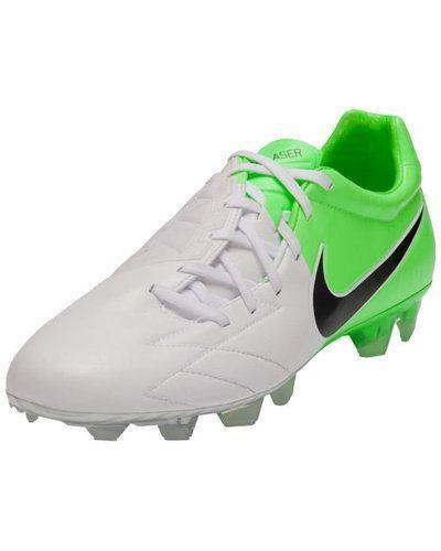Nike T90 LASER IV KL-FG 472555 170 WHITE/BLACK-ELE från Nike, Fasta Dobbar