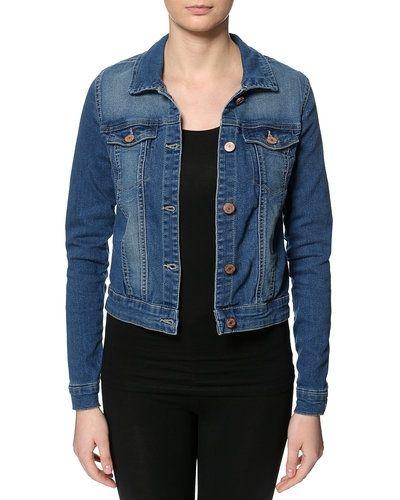 Blå jeansjacka från Noisy May till dam.