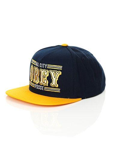 Obey '89ers' cap från Obey, Kepsar