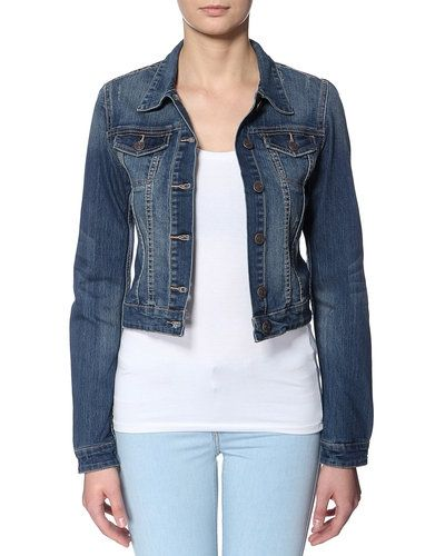 Till dam från Object, en blå jeansjacka.