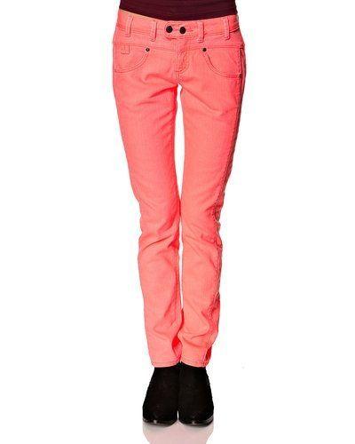 Röd blandade jeans från Object till dam.