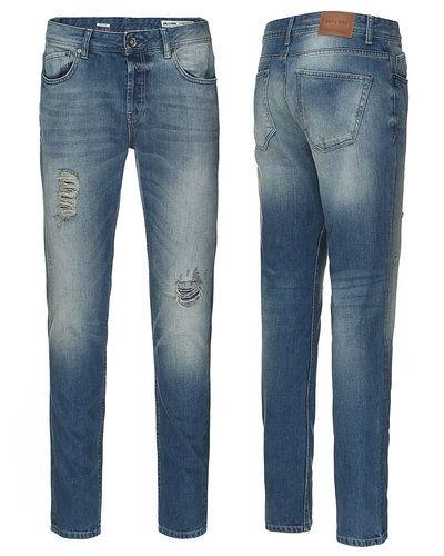 Blå blandade jeans från Only & Sons till herr.