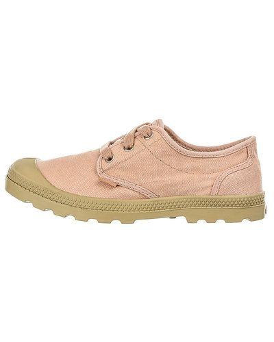 Rosa sneakers från Palladium till dam.