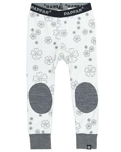 Till tjej från Papfar, en vit leggings.
