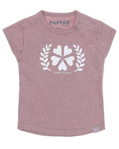 Lila t-shirts från Papfar till tjej.