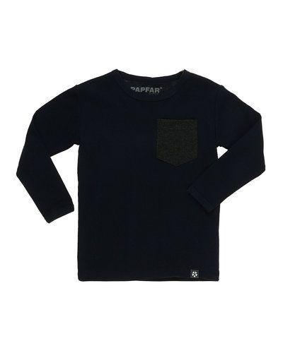 Blå tröja från Papfar till kille.