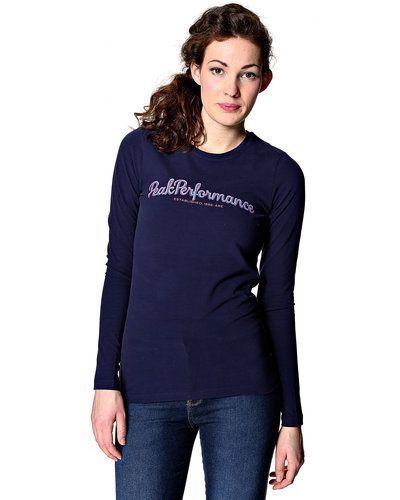 Peak Performance logo långärmad T shirt