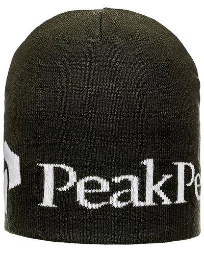 Till herr från Peak Performance, en grön mössa.