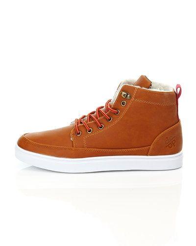 Till herr från Playboy Footwear, en brun sneakers.