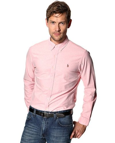 rosa ralph lauren skjorta herr
