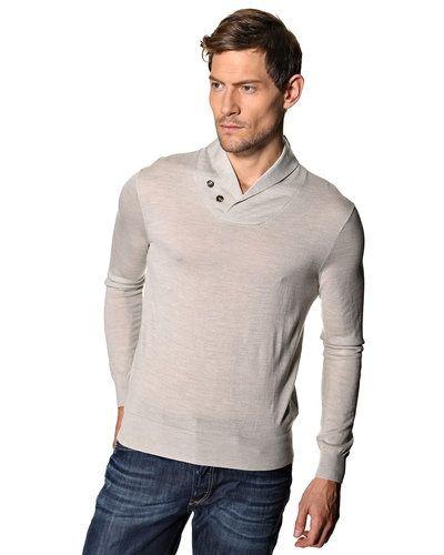 Polo Ralph Lauren Polo Ralph Lauren 'Shawl' stickad tröja. Huvudbonader håller hög kvalitet.