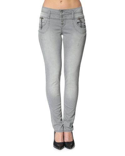 Till dam från PULZ, en grå blandade jeans.