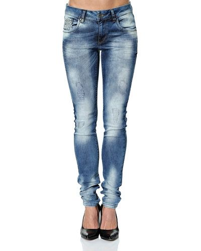 Blandade jeans från PULZ till dam.